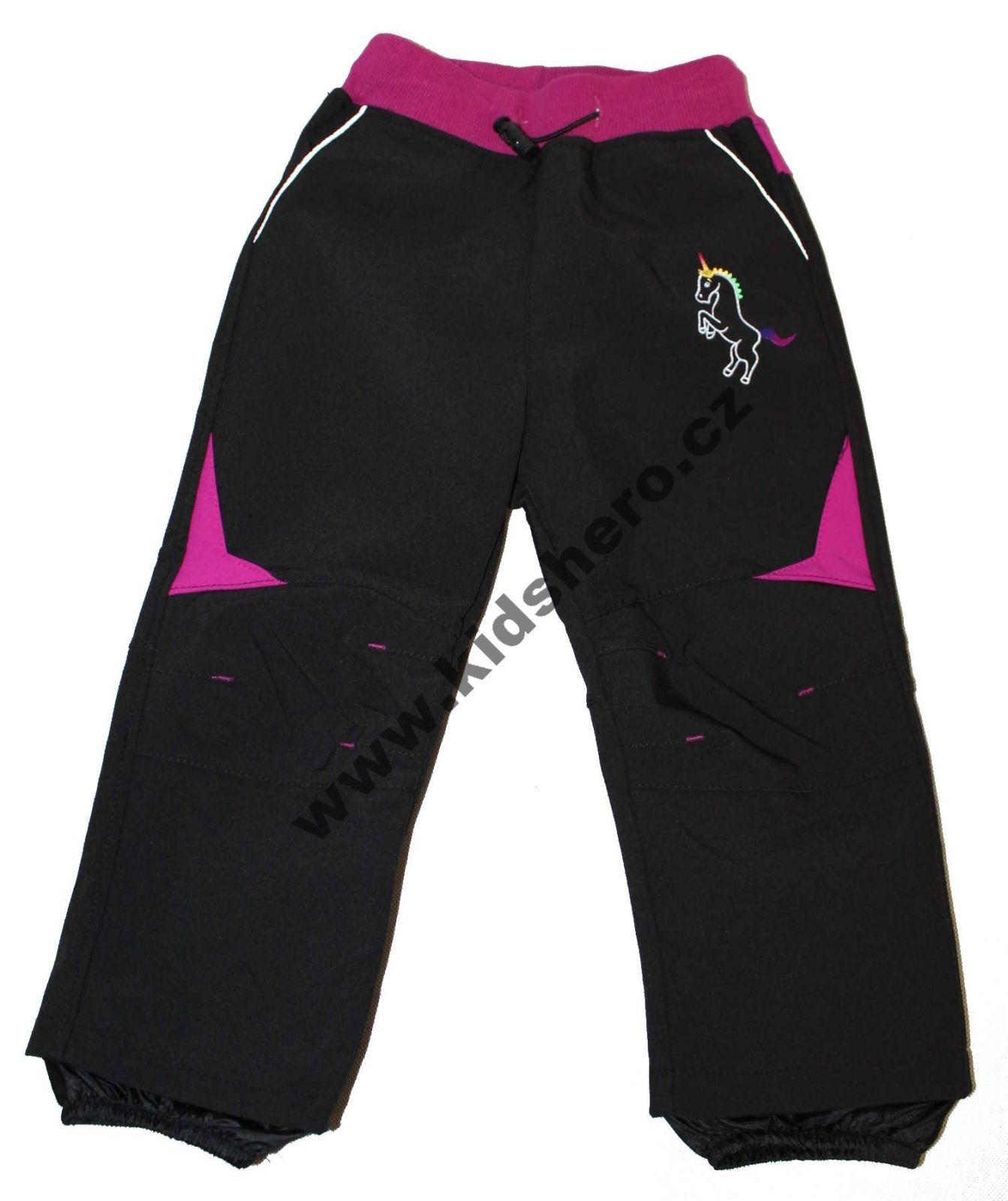 Dětské softshellové kalhoty KUGO, jarní kalhoty, podzimní kalhoty, jarní kalhoty