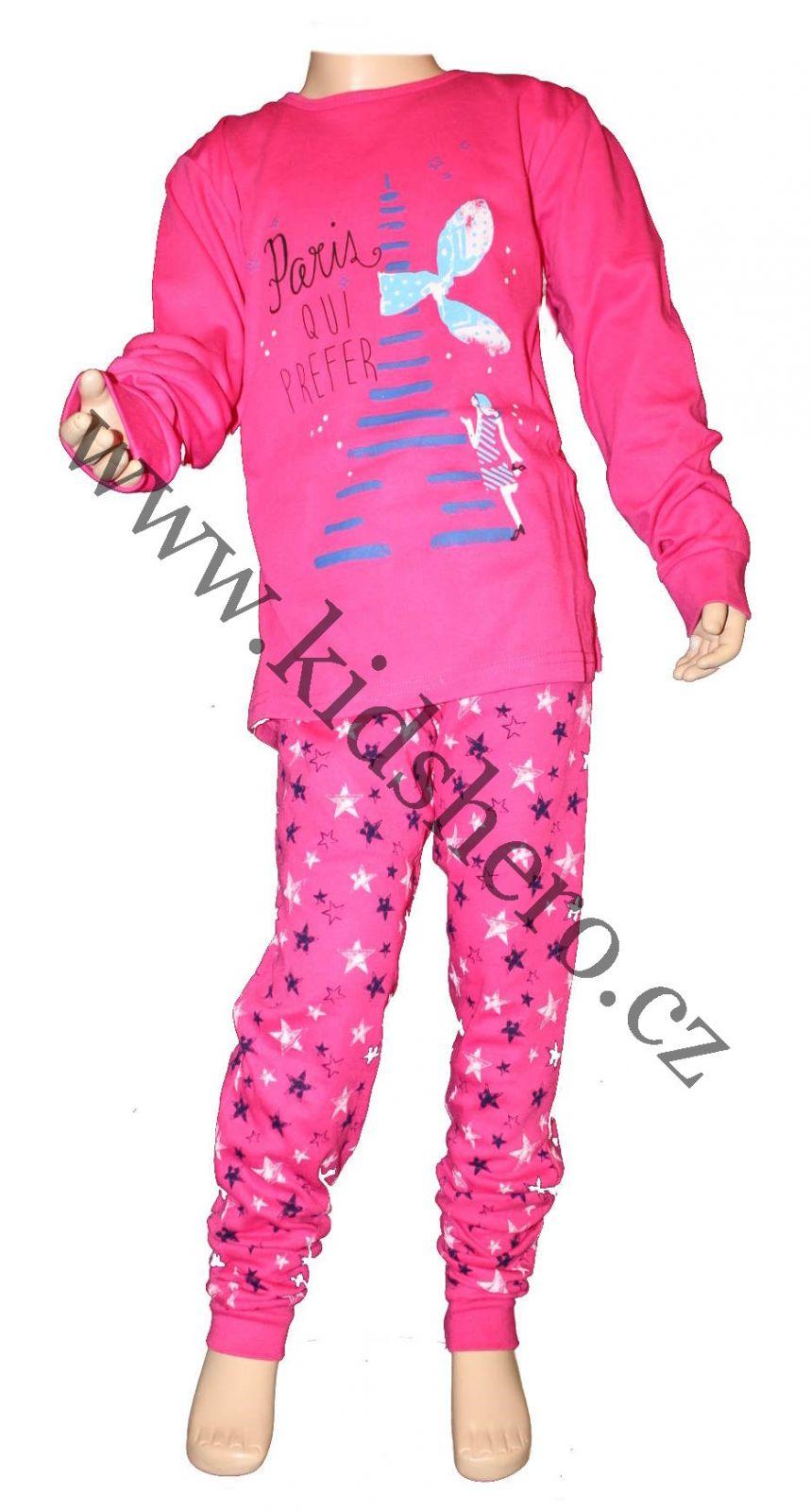 Dívčí pyžamo dětské bavlněné pyžamo dlouhé pyžamo