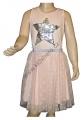 Měnící šaty s točící se tylovou sukní