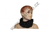 Šátek, nákrčník - slabý - černý