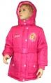 Zimní bunda, kabát - SOFIA - růžová